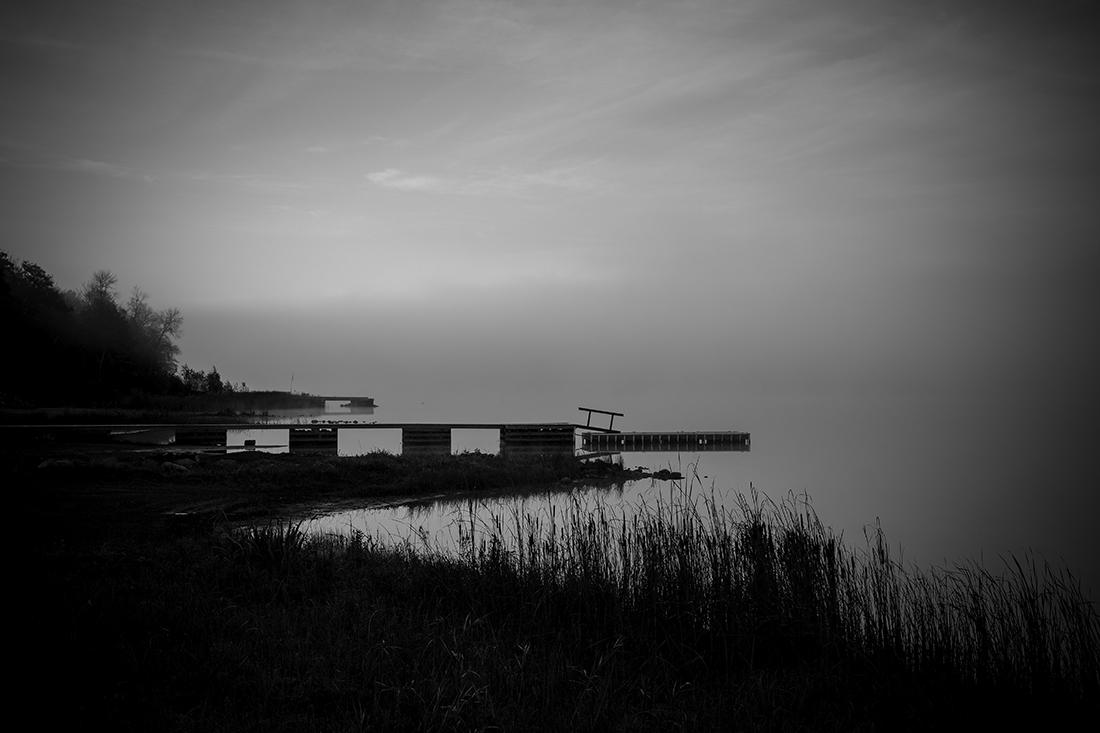 Foggy Morning On Maskinonge Bay