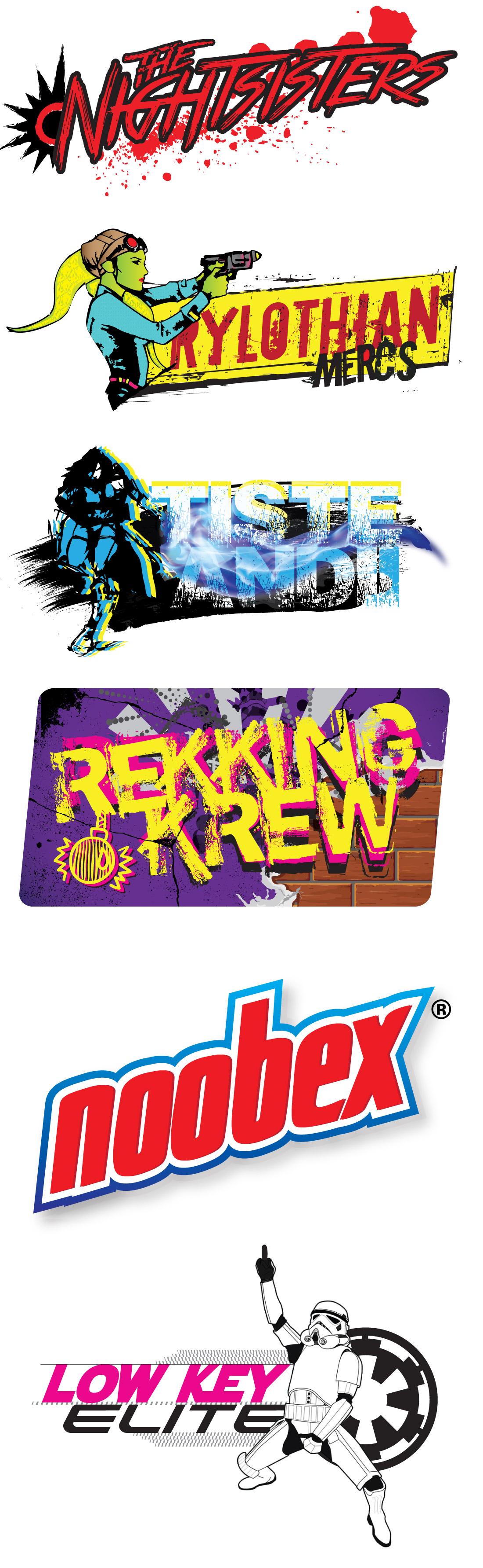 StarWars™ Uprising Clan Logos
