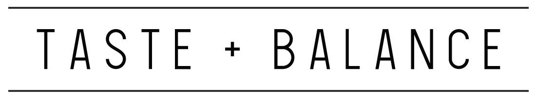Taste + Balance Branding