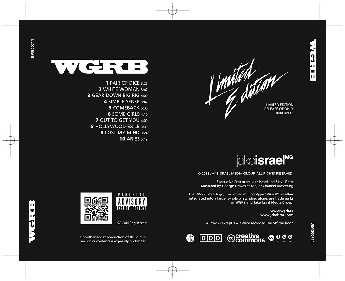 WGRB - CD Tray
