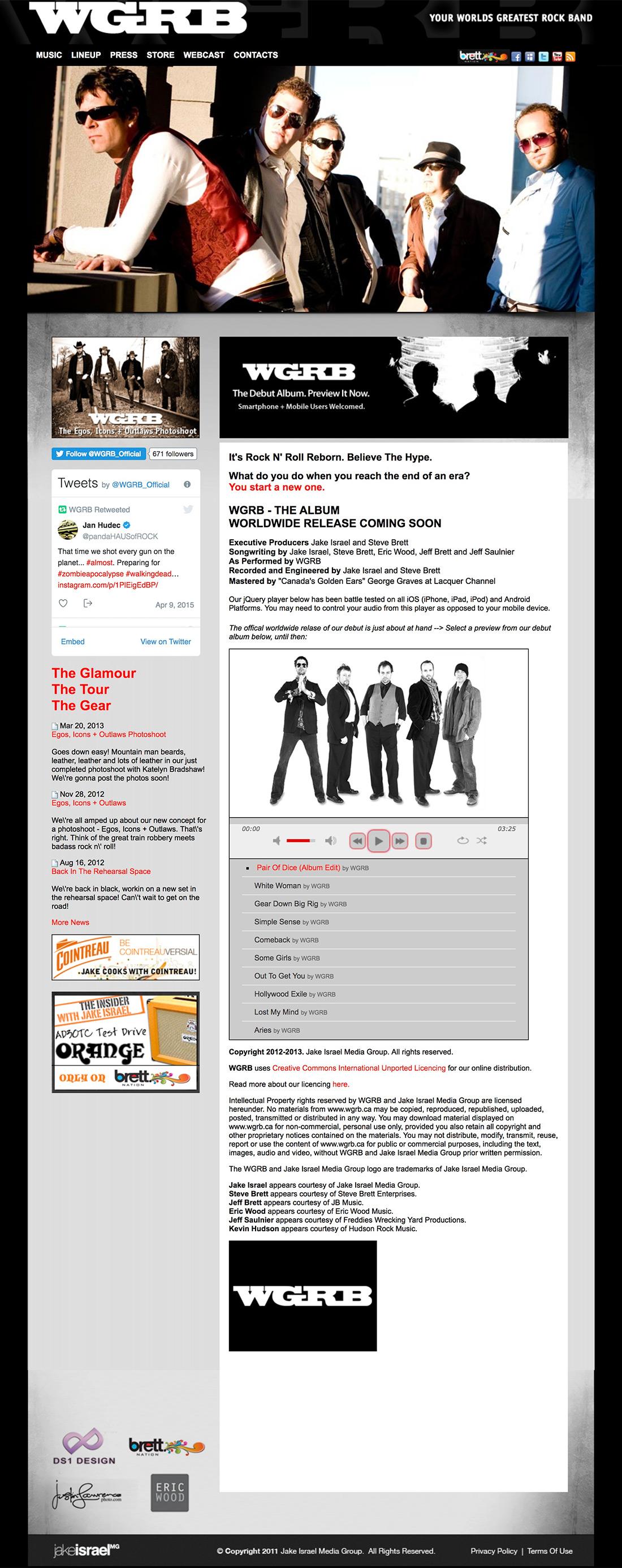 WGRB - Web Site